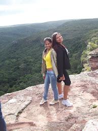 Lai e Ci ( cachoeira do Ferro Doido)