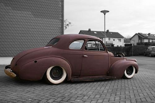 LOWTECH | traditional hot rods and customs : '40 chevy coupe