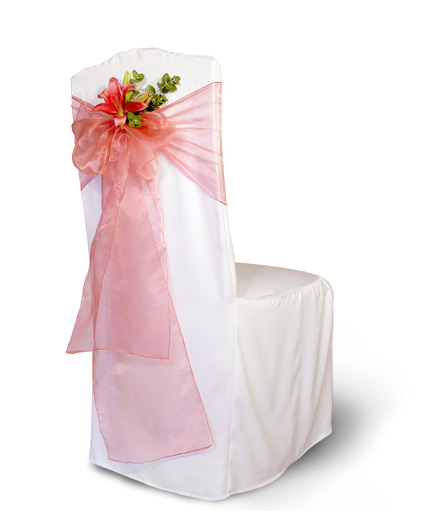 Wedding chair covers is another area that needs attention