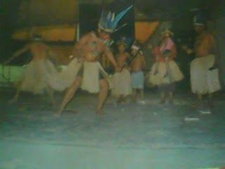 Awá Peteinjú -Dança Típica