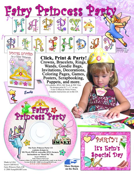 surprise birthday party clip art. and original clip art to