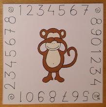 Tavlor med tre vise apor