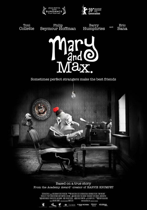 Mary And Max (2010) Dvd-R Ntsc Dvd Full - descarga gratis