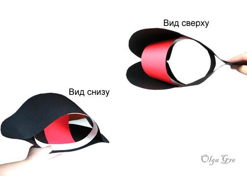 Как сделать шляпы пиратов
