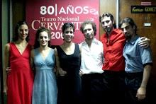 Función de estreno Teatro Nacional Cervantes 16/04/08