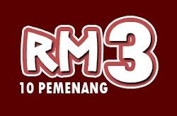 Contest RM3 untuk 10 pemenang