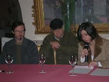 Gala leteraria de l'antrega premiô der I Zertamen e Poezía n'Andalú