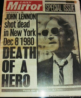 John Lennon Murdered news