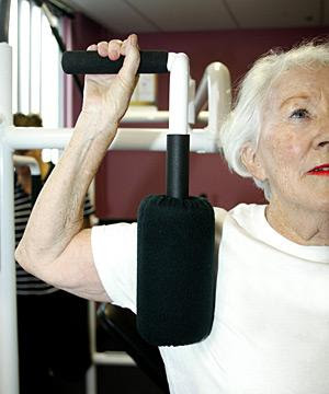Old Woman Exercise