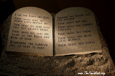Genial Letu0027s Just Use And English Translation. Hereu0027s A Stone Tablet Type  Presentation Of The Ten Commandments I Found On The Internet.