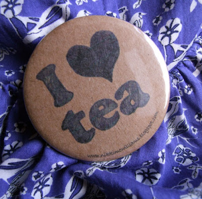 I Heart Tea (And My First Sale on Folksy!)