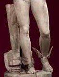 Itálica. Estatua de Mercurio