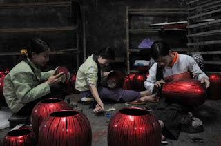 Ha Thai lacquer -  a unique famous trade village in Hanoi