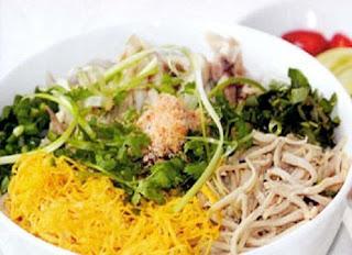 Thang noodles( B�n Thang H� N?i ) -  Famous vietnamese food