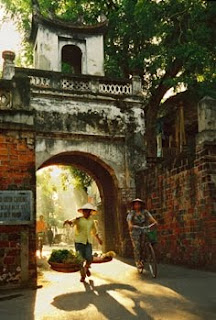 Vietnam where I saw the most beautiful