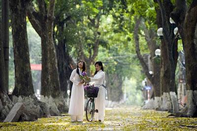 Phan Dinh Phung street- The best street in Hanoi