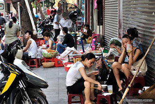 Ancient Hanoi streets in the heart foreigners