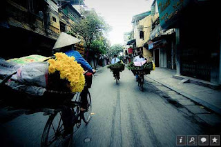 Flowers with culture of Hanoi people