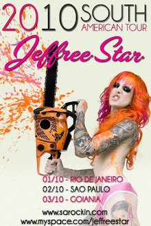 Jeffree Star no Brasil Out/2010