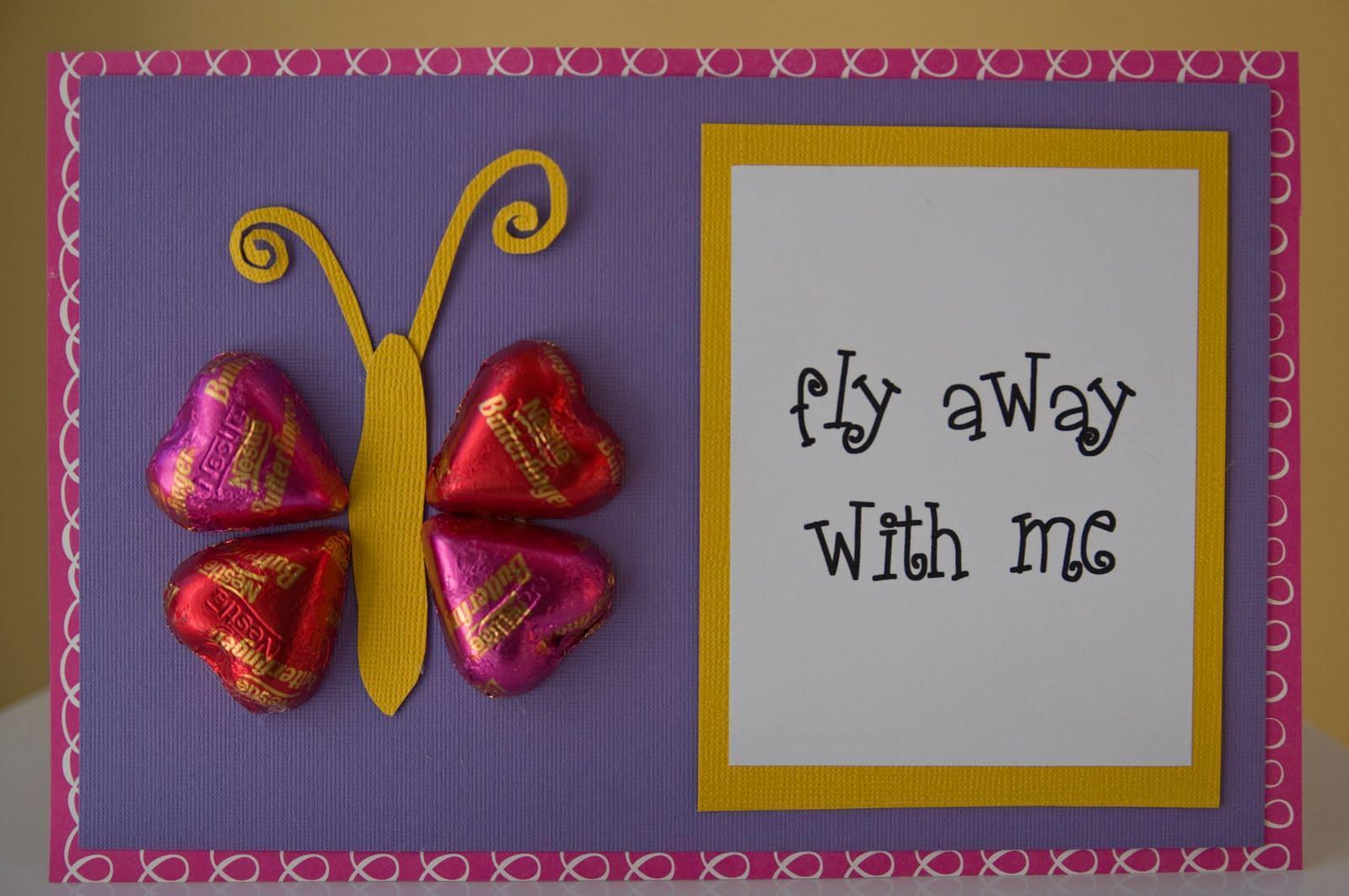 Life in Wonderland DIY Candy Valentines Day Cards – Candy Valentine Card