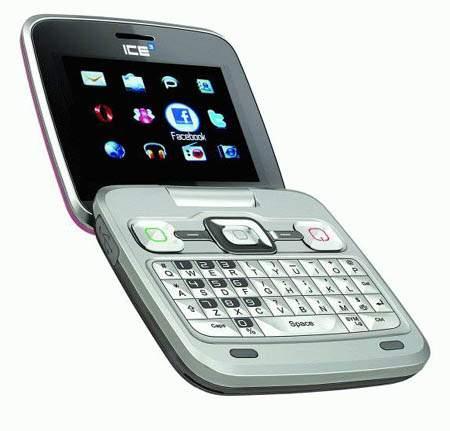 Alcatel presento el Alcatel ICE3 , un telefono plegable y diseño