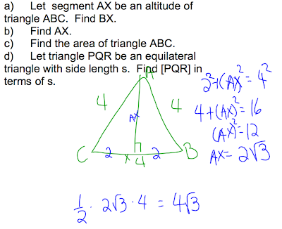 special right triangles discovering geometry
