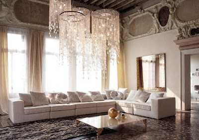 Love Your Place: Luxurious Modern Italian Glamour in Golden Bronze ...