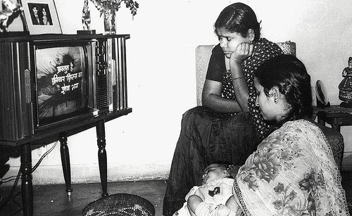 history of television in india pdf