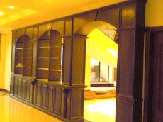 Pintu Gerbang dan Pengadang(partition) Ruang Tamu Kediaman