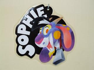 Cartoon goat badge