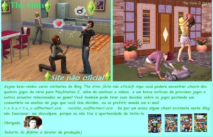 :.:The Sims::...::Site não Oficial:.: