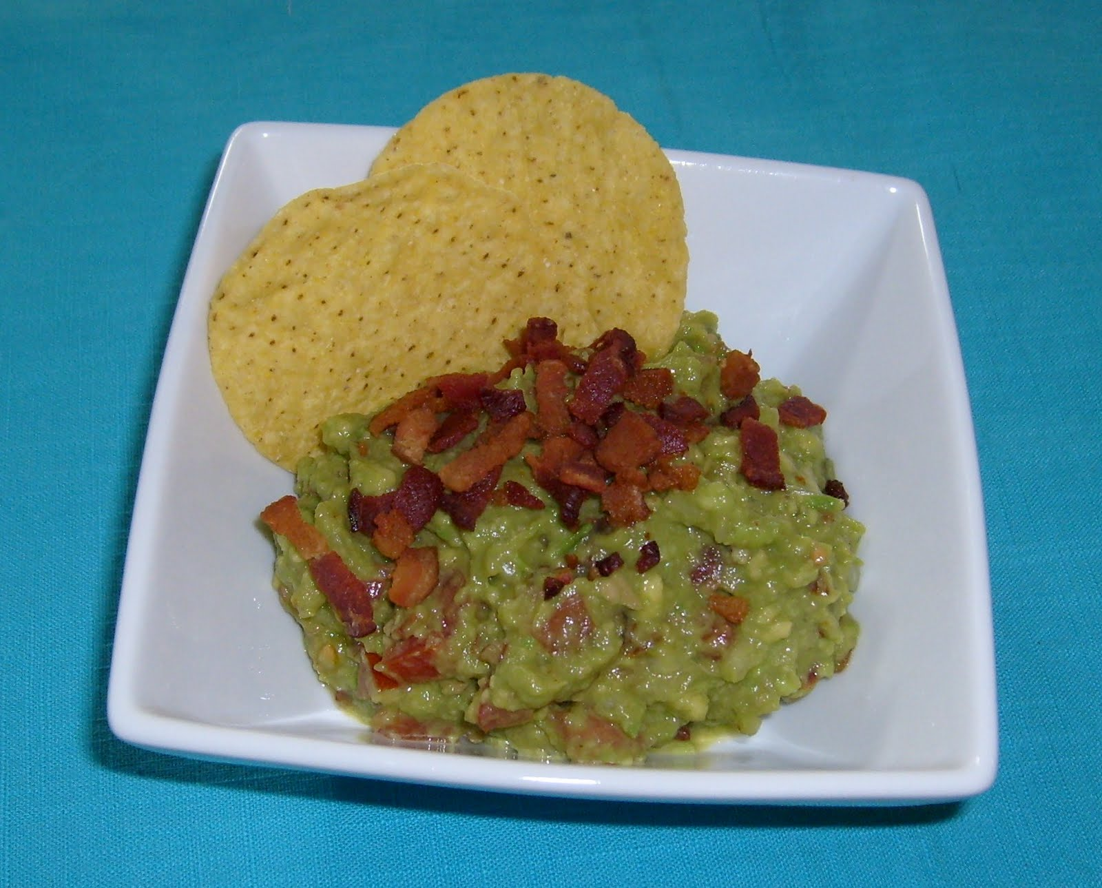 Happier Than A Pig In Mud: Bacon and Tomato Guacamole
