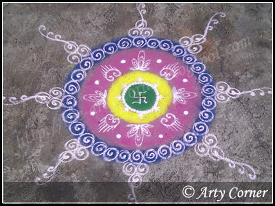 Labels: Flower Rangoli designs, Sanskar Bharati Rangoli 0 comments