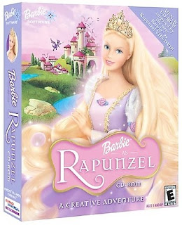 Barbie Games Barbie as Rapunzel