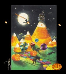 Candy Corn Village