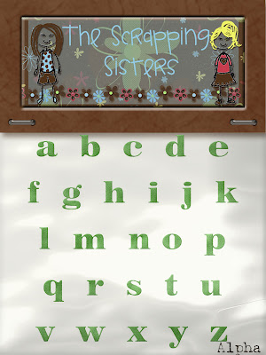 http://scrappingsisters.blogspot.com/2009/07/christmas-in-july-alpha.html