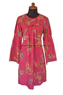 Atasan Batik Pink Tua Sold Out