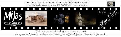 Otoño en Andalucía y expo de Paco Ruiz en Mijas.