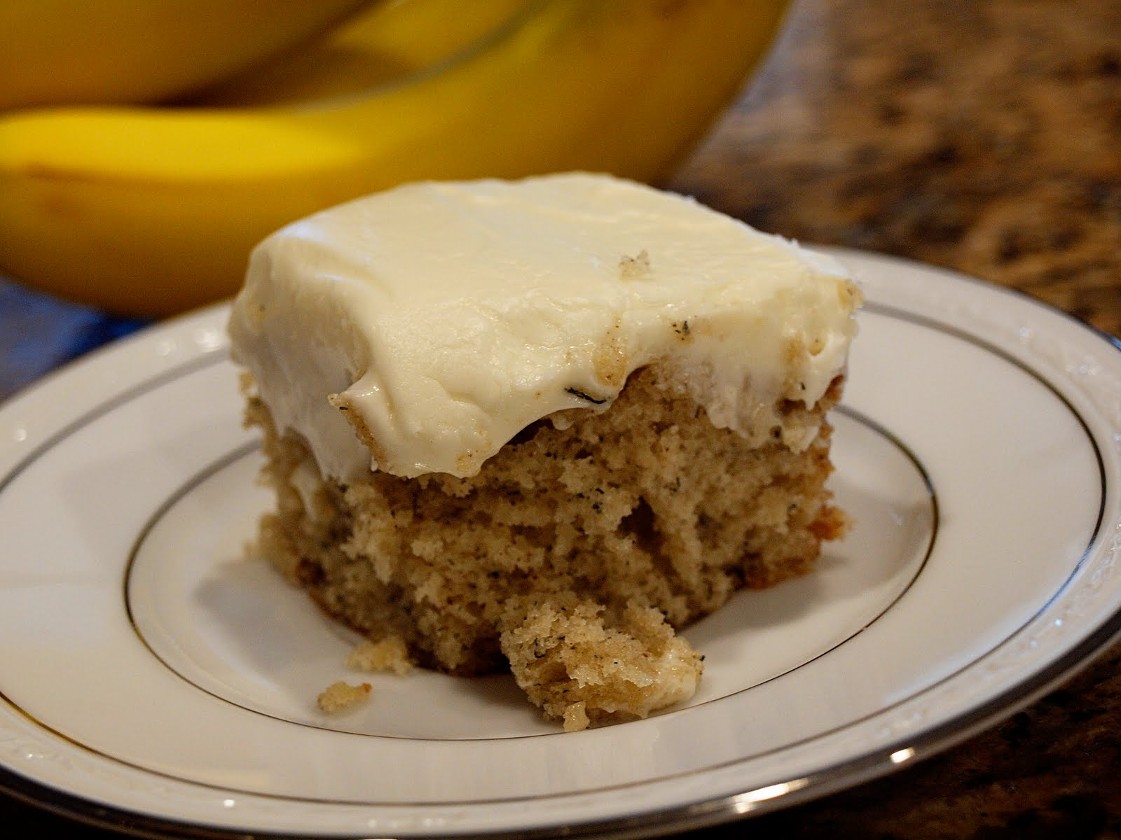 ... cake banana cajeta upside down cake banana cake with coconut frosting