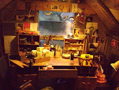 My cosy workshop at the foot of Nattadon Hill