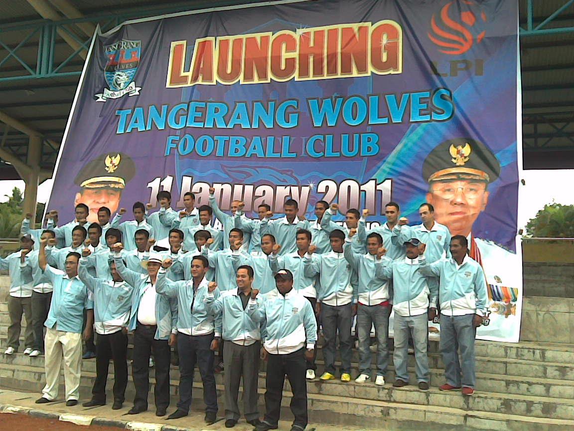 Tangerang Wolves F.C. Kota dan Kabupaten Tangerang Launching TANGERANG WOLVES FC
