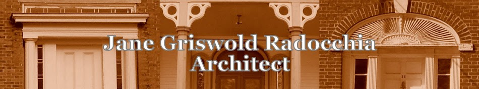 Jane Griswold Radocchia, Architect