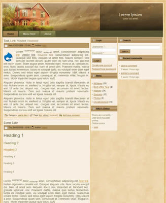 drupal real estate theme