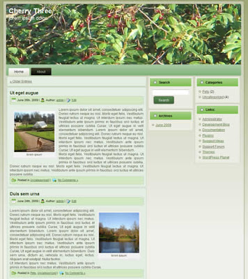wordpress theme agriculture