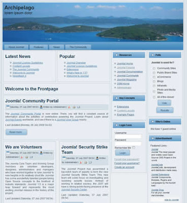 joomla 1.5 three column template