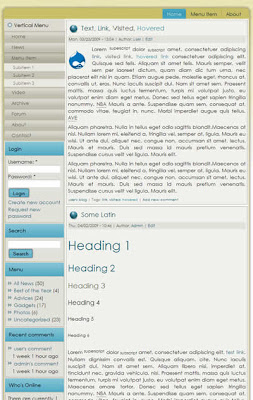 free drupal blog theme