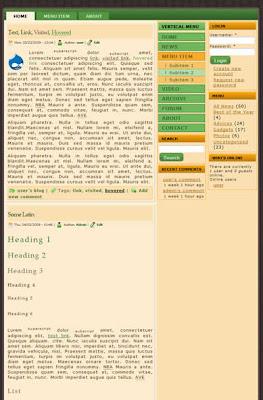 3 column free drupal theme