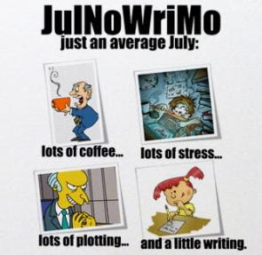 JulNoWriMo - Just Another July