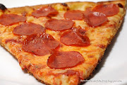 Today we have the Sbarro's pepperoni pizza. I call this the factory pizza .