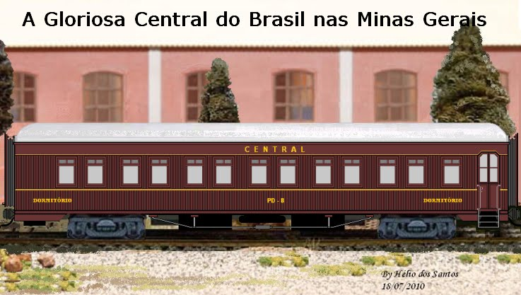 A Gloriosa Central do Brasil nas Minas Gerais
